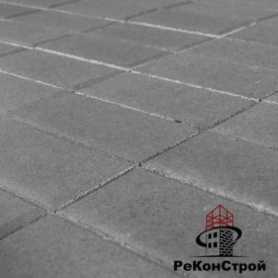 Плитка тротуарная, Прямоугольник