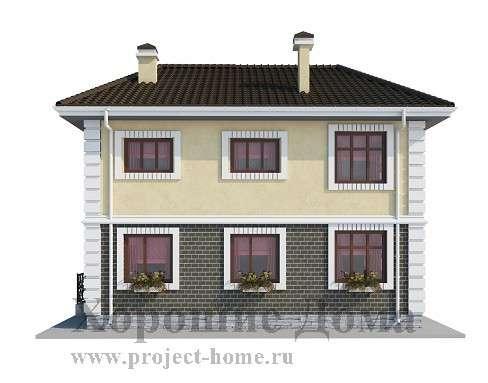 Строительство дома из газобетона 9.5x10 142 кв. м в Москве Фото 2