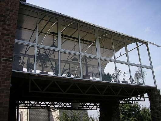 Перегородки, остекление, алюминиевые конструкции в Дмитрове Фото 2