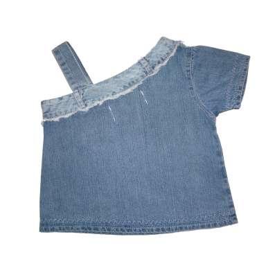 Топик джинсовый