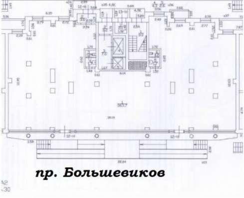 Торговое помещение по адресу Большевиков пр. д. 11