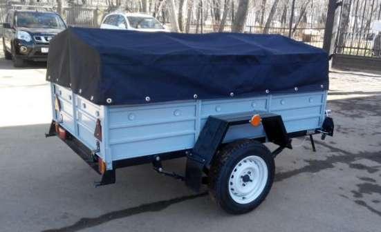Прицеп для легкового автомобиля 2000х1300 в комплекте с тентом и дугами