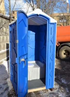 Туалетная кабина - биотуалет для дачи или стройки