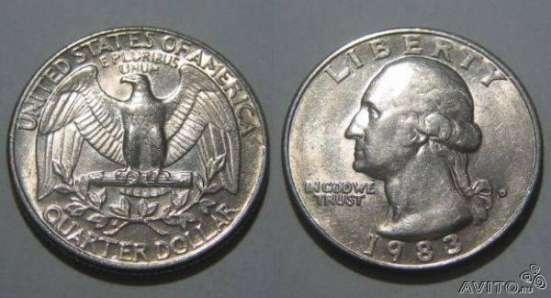 Монета liberty перевертыш