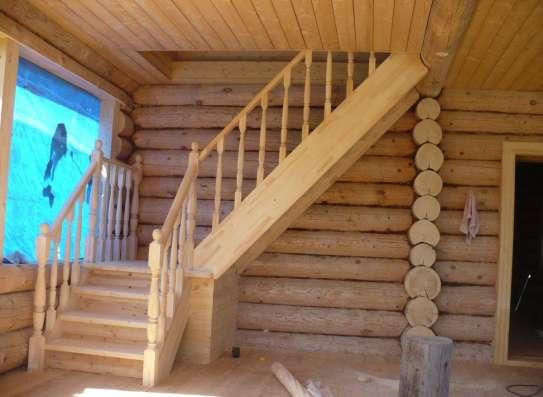 Деревянные лестницы на в Орле в Москве Фото 1