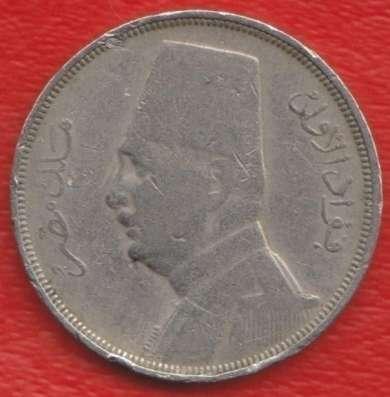 Египет 10 миллимов 1935 г. в Орле Фото 1