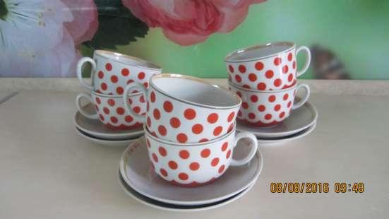 Продам набор чайных чашек. 12 предметов. СССР