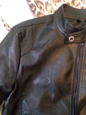 Куртка кожа весна-лето