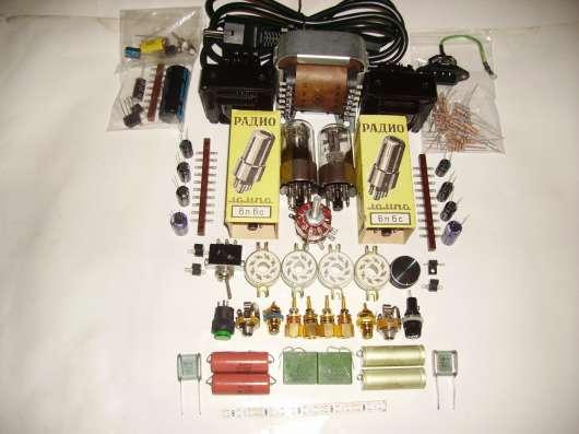 Кит - ламповый однотактный усилитель на лампах 6н8с-6п6с