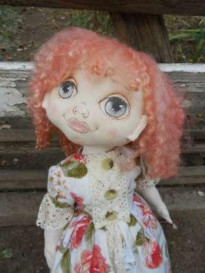 Кукла текстильная Рыжик