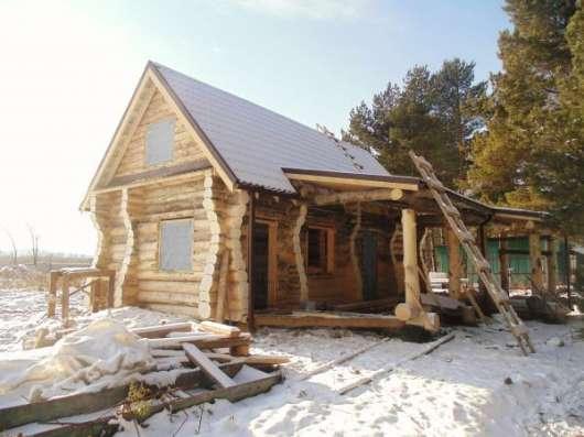 Дома, бани, коттеджи из бревна, бруса, лафета в Златоусте Фото 2