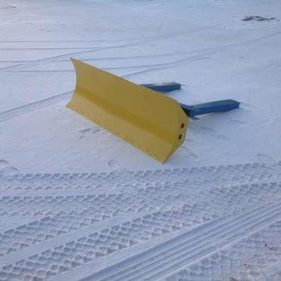 Отвал для уборки снега на твал дляуборки снега на погрузчик в Москве Фото 2