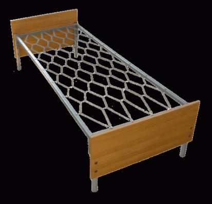 Металлические кровати для бытовок, кровати для вагончиков, кровати для рабочих, оптом от производителя.
