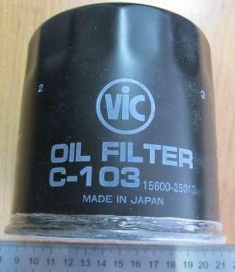 Фильтр масляный C-103 VIC