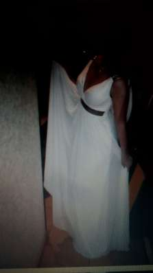 Выпускное белое платье