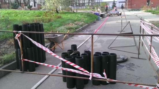 Бестраншейная Замена Канализации, Проколы под дорогой в Москве Фото 5