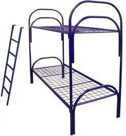 Металлические кровати для пансионата, детских лагерей, кровати армейские, кровати одноярусные и двухъярусные оптом от производителя. в Сочи Фото 2