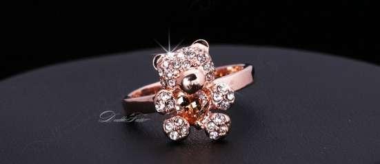 Кольцо (покрытие - розовое золото) в Перми Фото 3