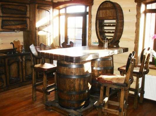 Мебель под заказ из массива дерева
