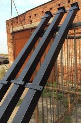 Столбы заборные металлические в Егорьевске Фото 2