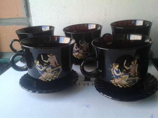 Два сервиза пары чашки с блюдцами в Москве Фото 4