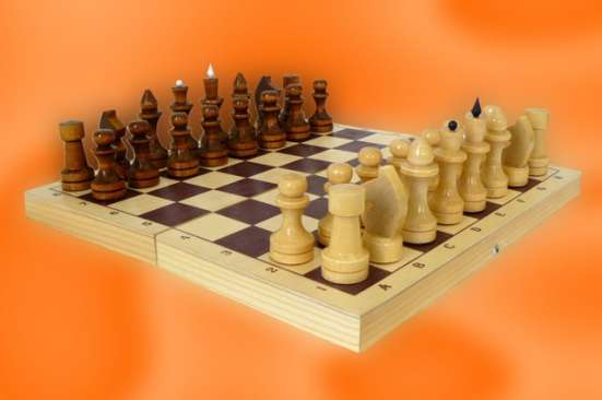 Шахматы лакированные Обиходные 290х145х38 новые с доставкой в Волгограде Фото 3