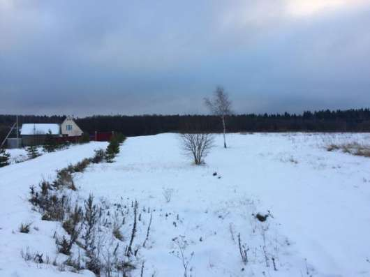 Продаётся земельный участок 12 соток в д. Бурцево, Можайский р-он, 115 км от МКАД по Минскому шоссе. Фото 1