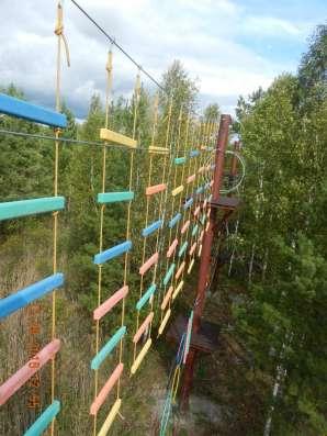 Веревочный парк, экстрим парк развлечений в Екатеринбурге Фото 3