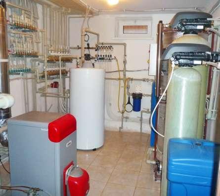 Отопление водоснабжение загородного дома