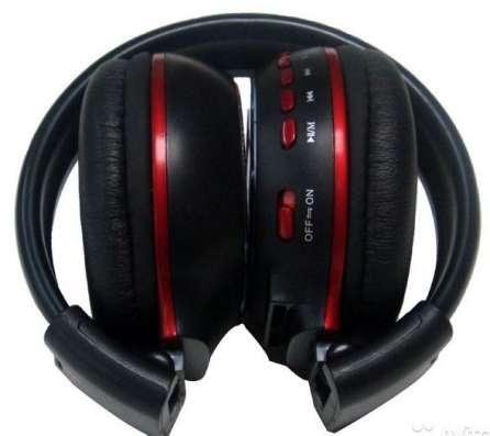 Беспроводные наушники ZL-669 MP3 TF карта fmрадио