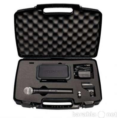 Микрофон SHURE PGX24/SM58 радиосистема