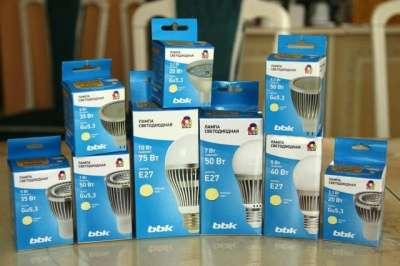 Светодиодная лампа BBK PAR16 PC334 3.3Вт BBK PAR16 3.3Вт. GU10