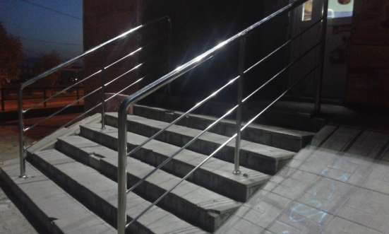Перила и ограждения из нержавеющей стали