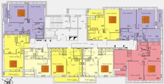 Продам 3-к кв, 72м2, 2 918 732 руб, Индустриальный район в Перми Фото 1