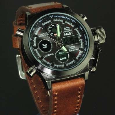 Очень красивые, надежные мужские часы AMST