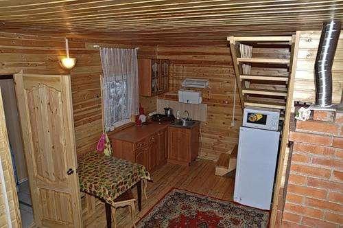 Двухэтажный дом с баней в поселке Орехово