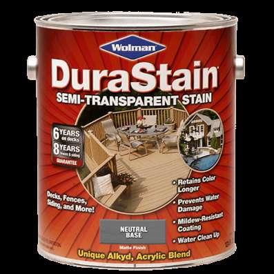 Пропитка для дерева, стен и террас. Wolman Dura Stain.