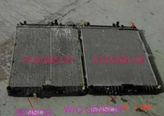 Радиатор охлаждения на Роуд Партнер и Муссо 3,2 АТ