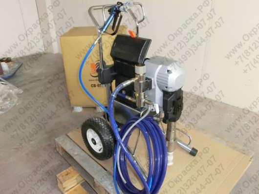 Окрасочный аппарат безвоздушного распыления DP-6555
