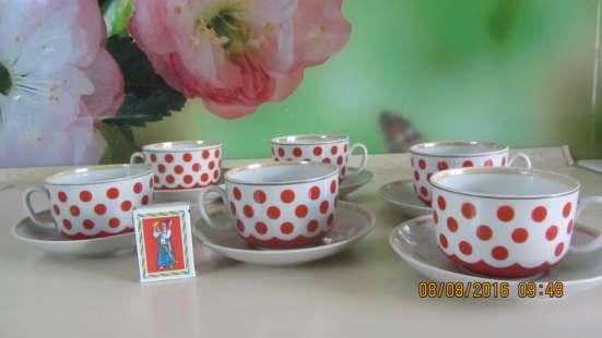 Продам набор чайных чашек. 12 предметов. СССР в г. Доброполье Фото 1