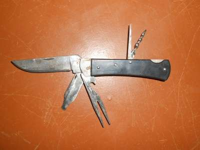Складные ножи из СССР.