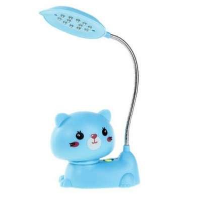 Киса  светильник  LED голубой