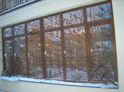 Изготовим металлические решетки на окна в г. Самара Фото 1