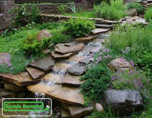 Озеленение и благоустройство, ландшафтный дизайн.