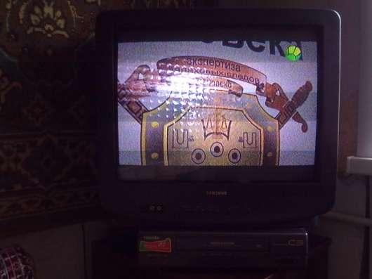 ТВ. SAMSUNG, пульт.антен. усилит. видеомагн.,TOSHIBA.кассеты в Асбесте Фото 4