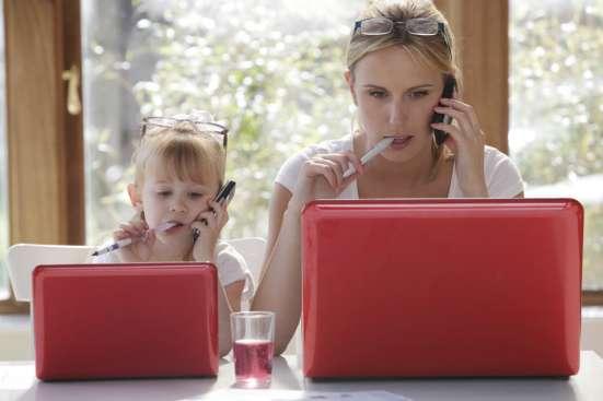 Работа на дому для мам в декрете, домохозяек. Совмещение