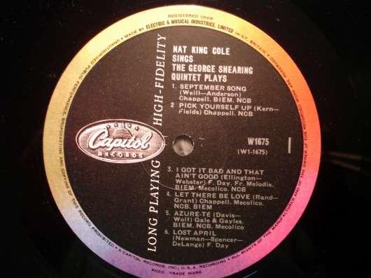 Nat King Cole / George Shearing (UK)