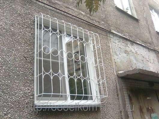 Решётки металлические на окна