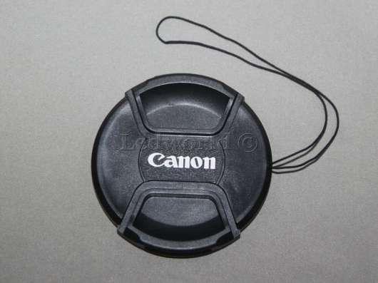 Крышка со шнурком для Canon 82 мм
