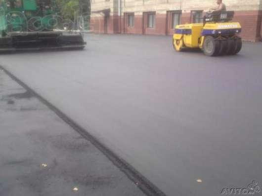 Асфальтирование дорог и укладка асфальта в Новосибирске Фото 3